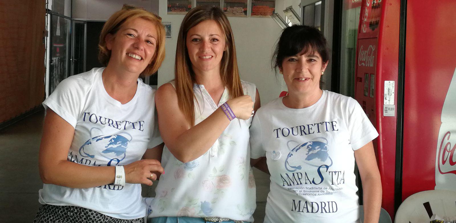 Voluntarios Ampastta, Asociación Madrileña de Pacientes con Síndrome de Tourette y Trastornos Asociados.